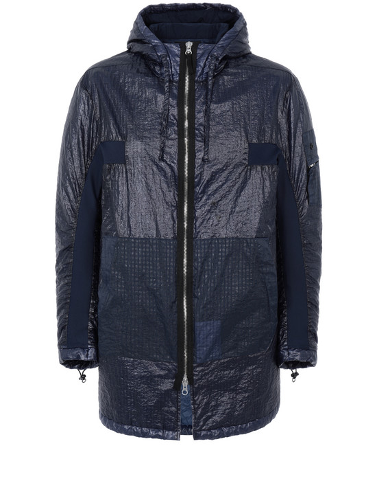 STONE ISLAND SHADOW PROJECT 40203 CONTOUR PARKA Jacket Man Blue