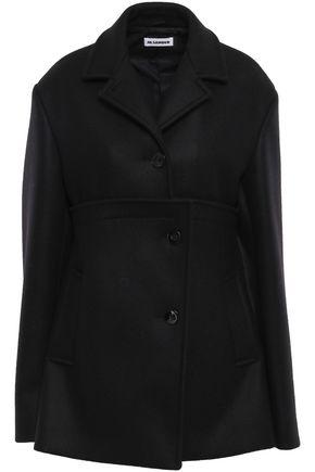 JIL SANDER Wool-blend felt coat