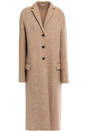 JIL SANDER Wool-twill coat