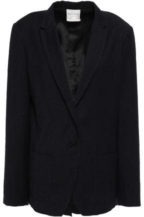 FORTE_FORTE Brushed wool-twill blazer