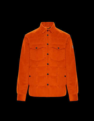 GELT Orange Category Overcoats Man