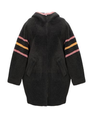 Фото - Женское пальто или плащ BLANCHA свинцово-серого цвета