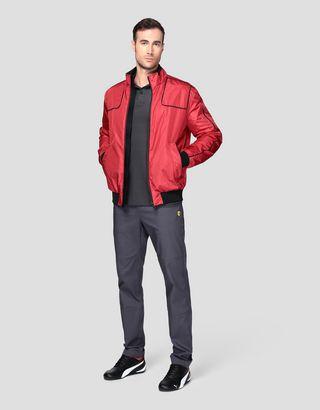 Scuderia Ferrari Online Store - 男士 CARBONX 飞行夹克 - 飞行夹克与运动夹克