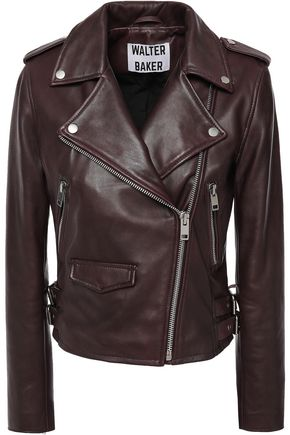 W118 by WALTER BAKER Leather biker jacket
