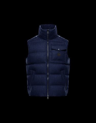 LALAY Blu scuro Gilet
