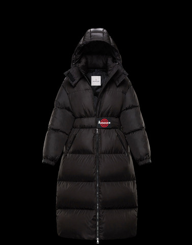 DANUBELONG Black Long Down Jackets