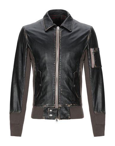 Купить Мужскую куртку S.W.O.R.D. темно-коричневого цвета