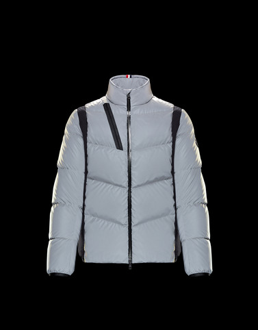 LEBLANC Light grey Down Jackets Man