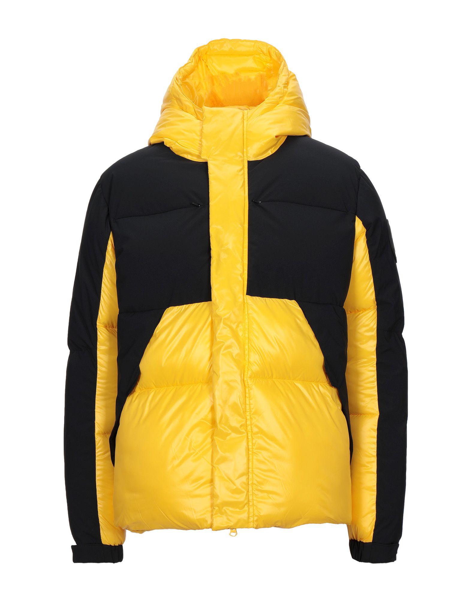 《セール開催中》SAVE THE DUCK メンズ ダウンジャケット イエロー S ポリエステル 100% D3790U LUMA9