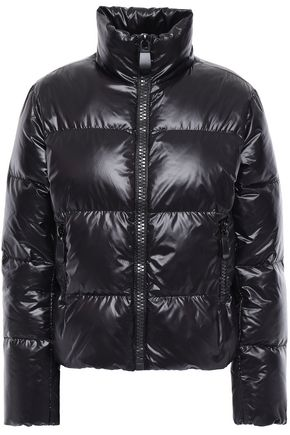 MAJE Quilted shell down jacket