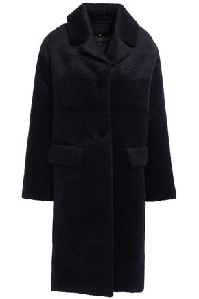MAJE Brushed-woven coat