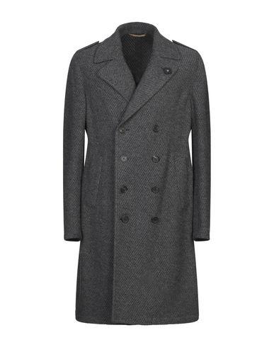 Купить Мужское пальто или плащ  свинцово-серого цвета