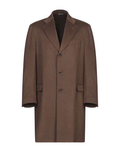 Купить Мужское пальто или плащ  коричневого цвета