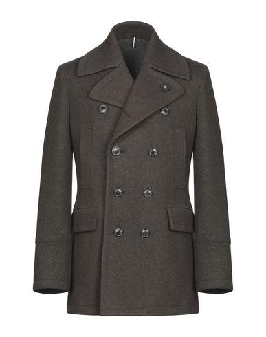 Купить Мужское пальто или плащ  темно-зеленого цвета