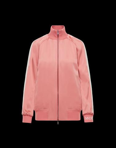 OVERCOAT Light pink T-shirts & Tops Woman