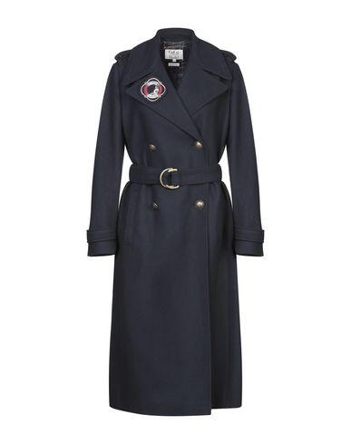 Купить Женское пальто или плащ TOMMY HILFIGER x GIGI HADID темно-синего цвета