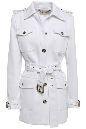 MICHAEL MICHAEL KORS Belted twill jacket