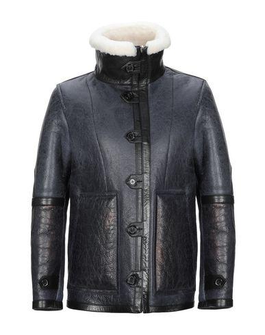 Фото - Мужское пальто или плащ  грифельно-синего цвета