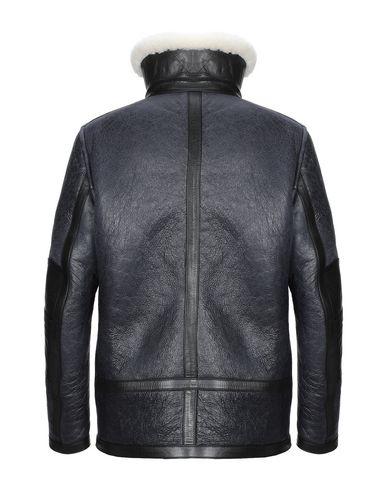 Фото 2 - Мужское пальто или плащ  грифельно-синего цвета