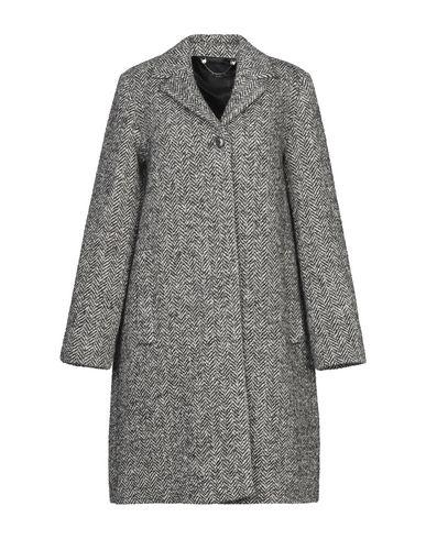 Купить Женское пальто или плащ WEEKEND MAX MARA серого цвета
