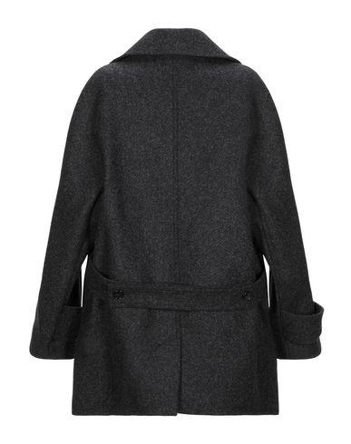Фото 2 - Женское пальто или плащ  цвет стальной серый