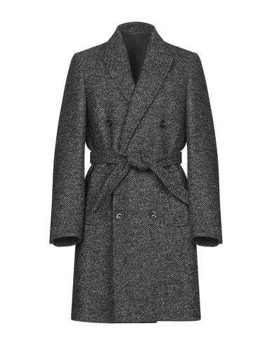 Купить Мужское пальто или плащ PAOLO PECORA свинцово-серого цвета