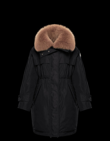 LAGOPEDE Black Category Parka Woman