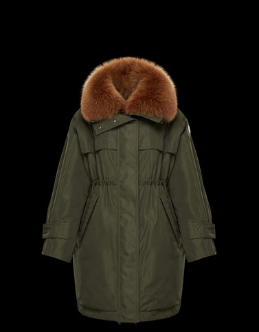 LAGOPEDE Green Category Parka Woman