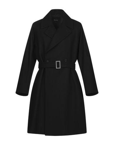 Купить Мужское пальто или плащ HEVÒ черного цвета