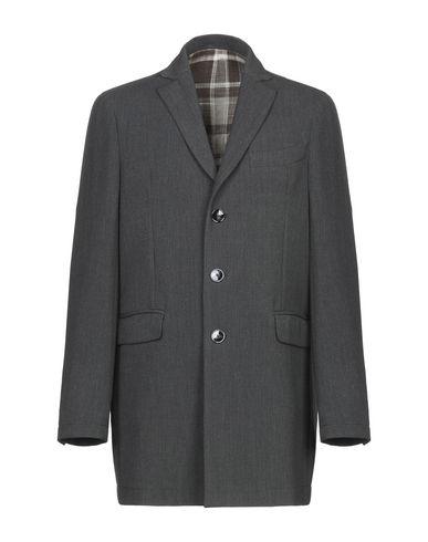 Купить Мужское пальто или плащ ASFALTO серого цвета