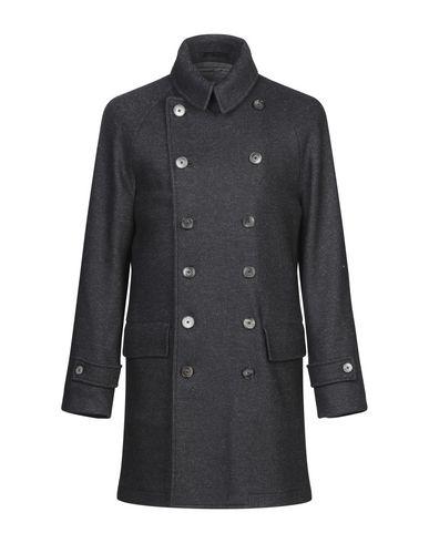 Фото - Мужское пальто или плащ FUTURO темно-синего цвета