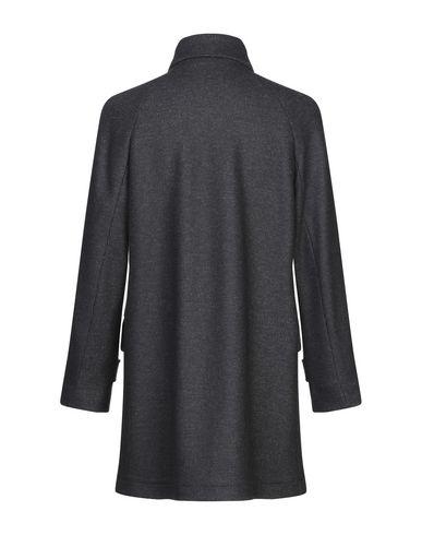 Фото 2 - Мужское пальто или плащ FUTURO темно-синего цвета