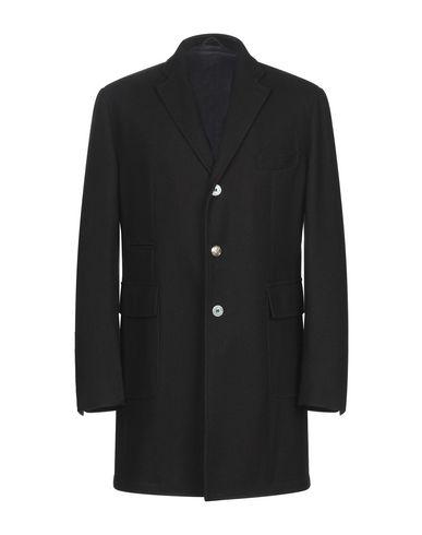 Фото - Мужское пальто или плащ JOHN SHEEP черного цвета