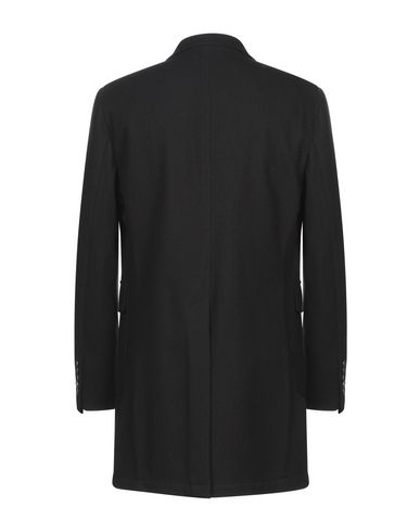 Фото 2 - Мужское пальто или плащ JOHN SHEEP черного цвета