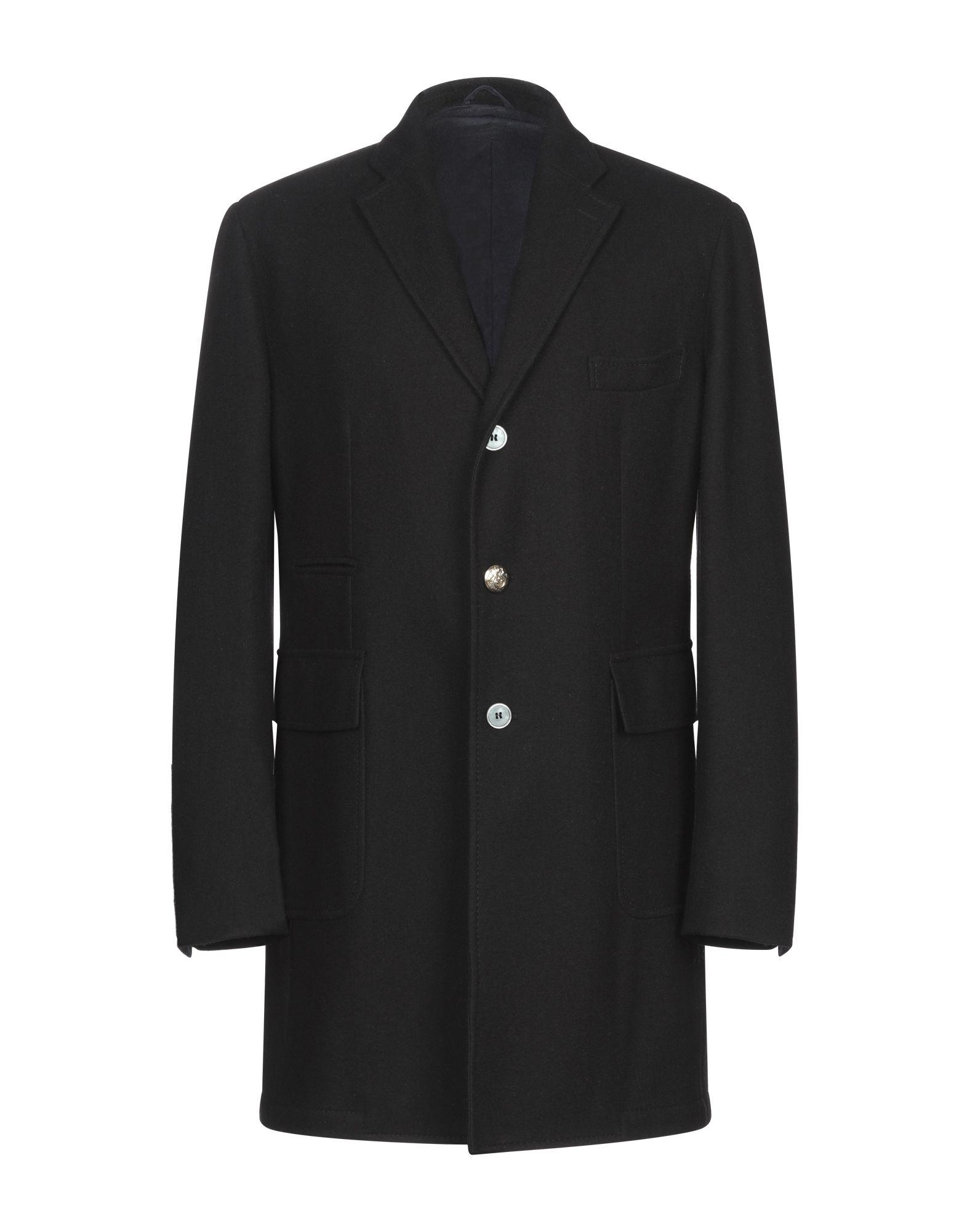 《期間限定セール開催中!》JOHN SHEEP メンズ コート ブラック 50 コットン 100%