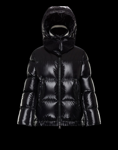 WOURI Black Short Down Jackets
