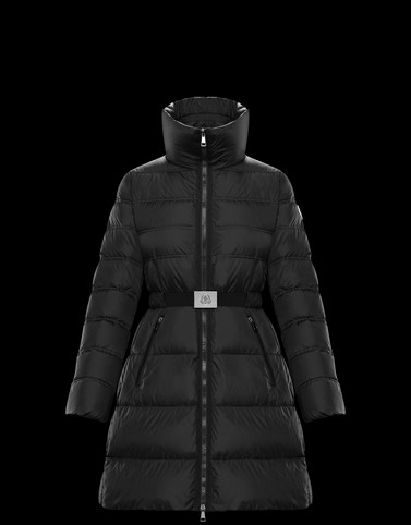 ACCENTEUR Black Long Down Jackets Woman