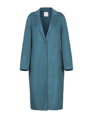 Купить Женское пальто или плащ  цвет цвет морской волны