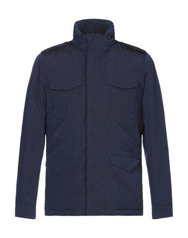 Купить Легкое пальто синего цвета