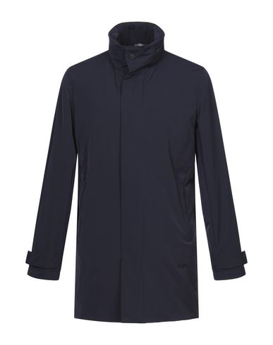 Купить Мужское пальто или плащ  темно-синего цвета