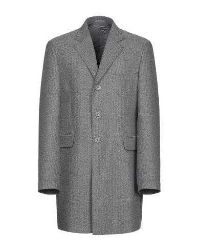 Фото - Мужское пальто или плащ  серого цвета