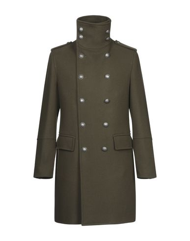 Купить Мужское пальто или плащ BOTTEGA MARTINESE цвет зеленый-милитари