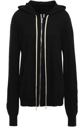 RICK OWENS Maglia cashmere hoodie