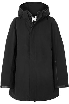TEMPLA Cotton-blend shell hooded jacket