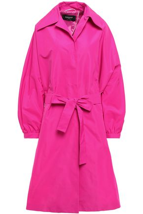 ROCHAS Belted faille coat