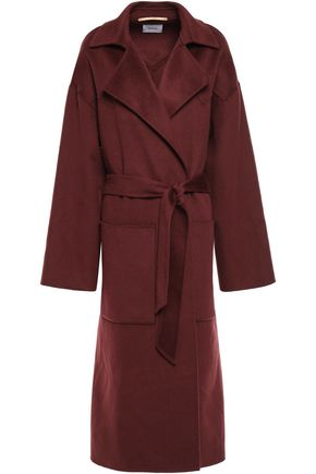 NANUSHKA Alamo belted wool and silk-blend coat