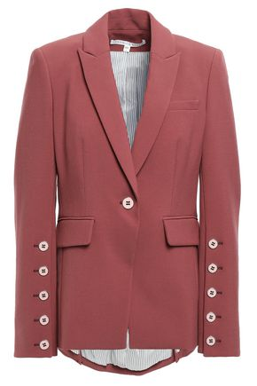 VERONICA BEARD Fogg Dickey button-detailed stretch-crepe blazer