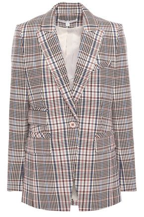 VERONICA BEARD Fuller checked cotton-blend blazer