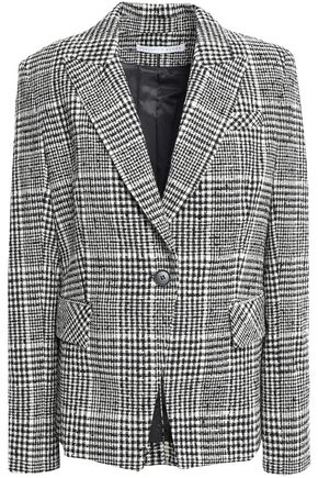 VERONICA BEARD Rhett Dickey checked cotton-blend tweed blazer
