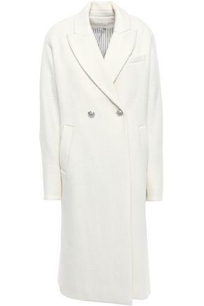 VERONICA BEARD Fiona double-breasted wool-blend tweed coat